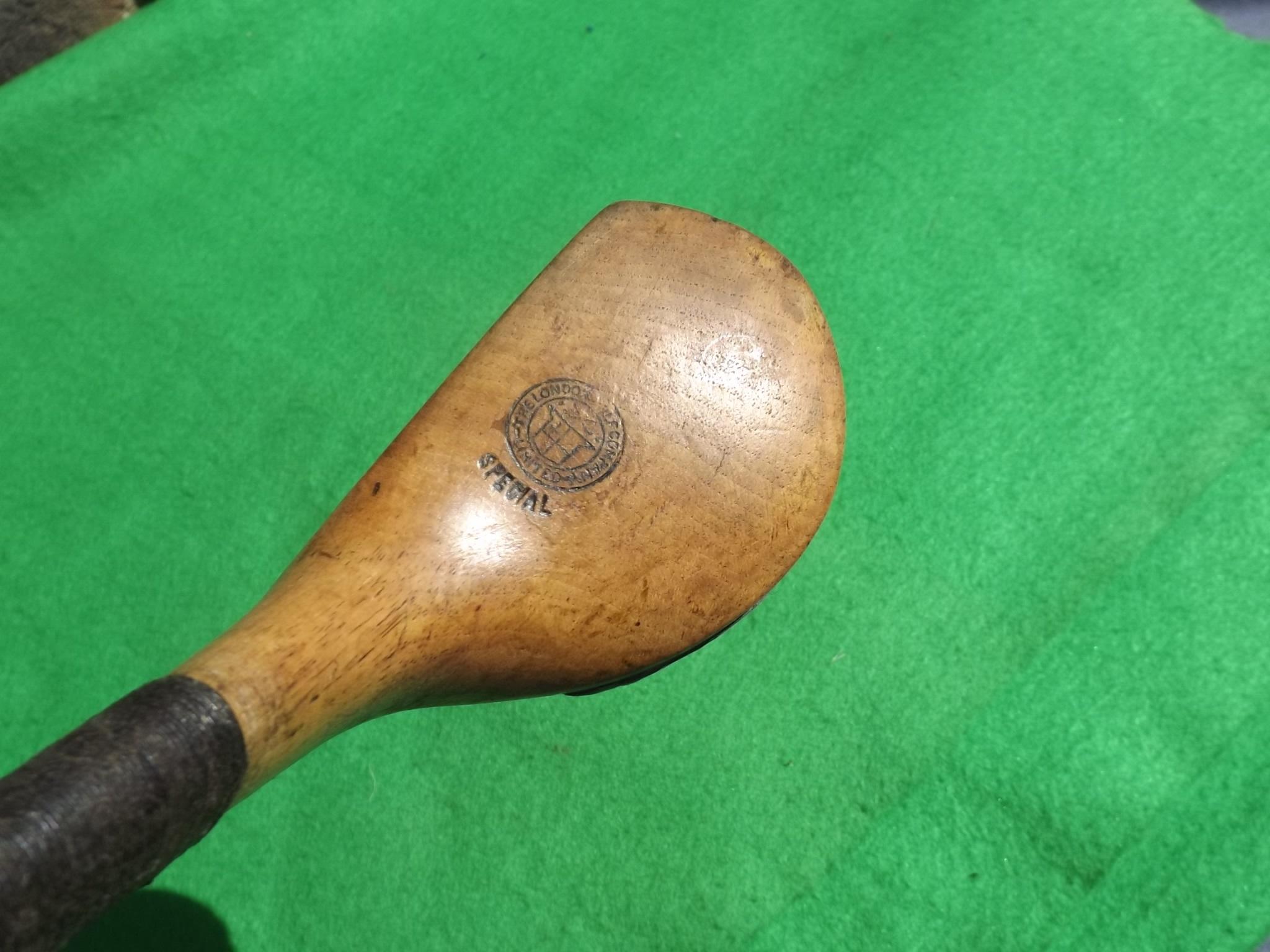 Blondie Scared Head Brassie The London Golf Co