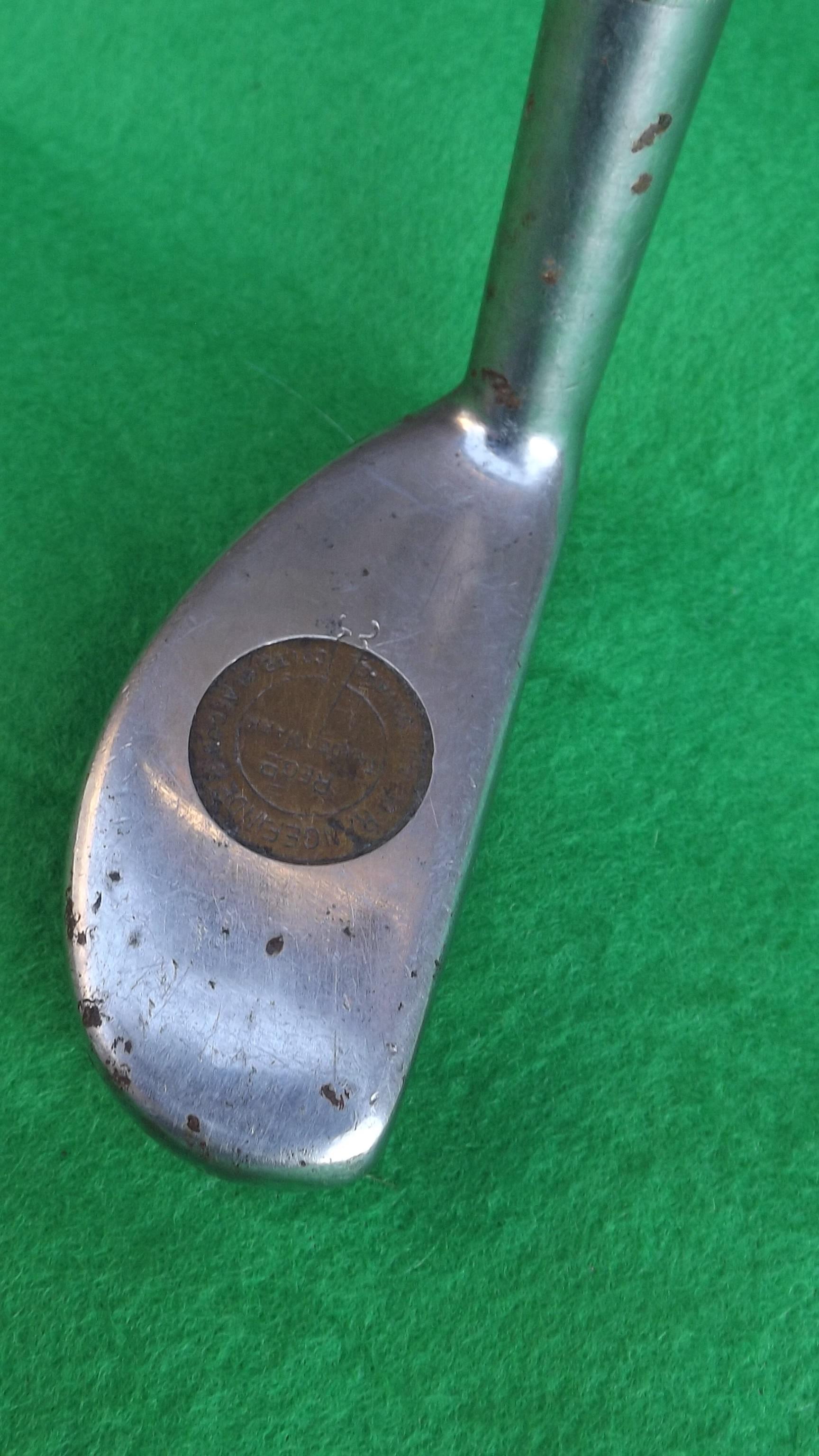 Vintage Hickory Shaft Rangefinder Rustless Patent Bunny Putter